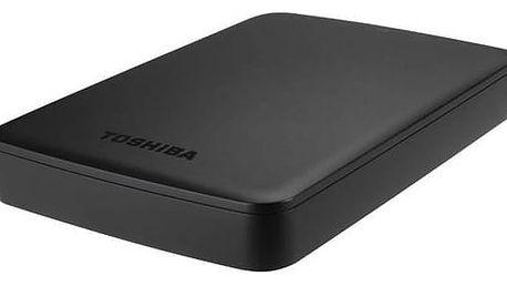 """Externí pevný disk 2,5"""" Toshiba Canvio Basics 2TB (HDTB320EK3CA) černý"""