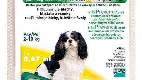 FRONTLINE Combo spot on Dog - pro malého psa