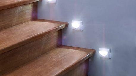 Světlo na schody s čidlem (1 ks)