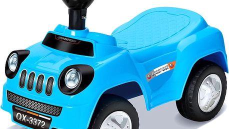 WIKY Odrážedlo auto 50 cm, modrá