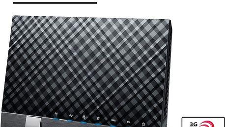 ASUS DSL-N17U - 90IG01L0-BM3000 + Webshare VIP Silver, 1 měsíc, 10GB, voucher zdarma
