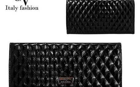 Malá dámská kabelka Italy Fashion černá