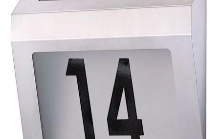Tuin 1522 Solární zahradní domovní číslo s LED osvětlením