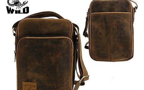 Pánská taška z pravé kůže LB-234-H