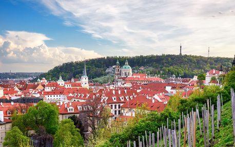 Letní romantika a relax v Praze včetně snídaně