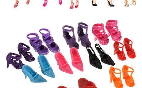 10 párů bot pro panenky - dodání do 2 dnů