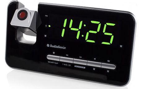 TOPCOM AudioSonic CL-1492 rádiobudík s projekcí - Skladem