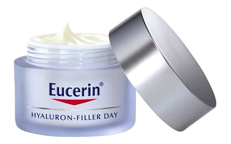 EUCERIN HYALURON-FILLER Intenzivní vyplňující denní krém proti vráskám pro suchou pleť 50 ml