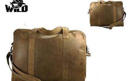 Pánská taška z pravé kůže 141-H BIG Yellow