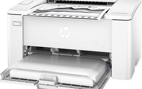 HP LaserJet Pro M102w - G3Q35A + HP Copy CHP910, A4, 80g/m2, 500 listů v cen2 Kč 120,-