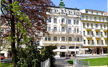Lázeňský balíček s polopenzí v Hotelu Polonia***. V ceně wellness procedury - masáže, zábaly a další
