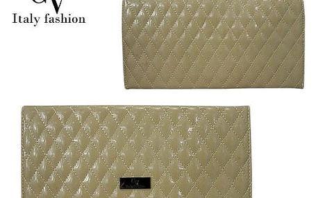 Malá dámská kabelka Italy Fashion béžová