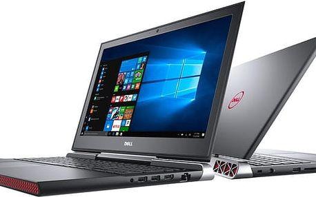 Dell Inspiron 15 Gaming (7566), černá - N-7566-N2-711K + Dell Targus 15-15.6 Clamshell Laptop Case Black k Dell NB zdarma
