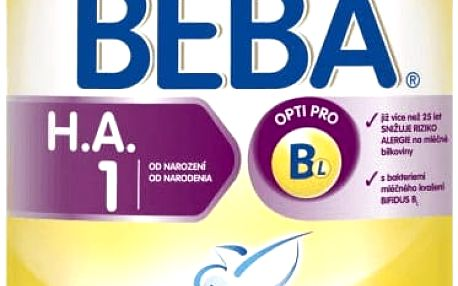 NESTLÉ BEBA HA 1 Good start (800 g) - kojenecké mléko