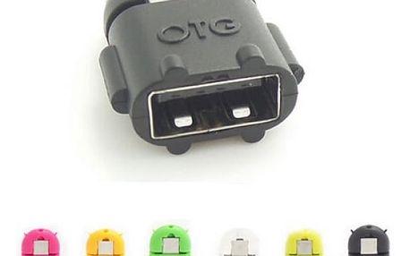 Mini USB OTG adaptér - černá - dodání do 2 dnů