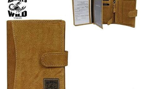Pánská peněženka z pravé kůže N4L-SCL-H BP
