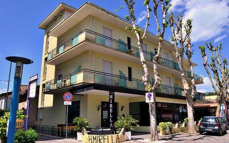 8–10denní Itálie, Emilia Romagna | Dítě do 12 let ZDARMA | Hotel Mirella *** s polopenzí | 150m od pláže!