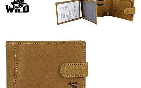 Pánská peněženka z pravé kůže N992L-H B.P.