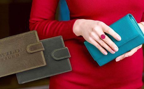 Libovolná dámská nebo pánská kožená peněženka