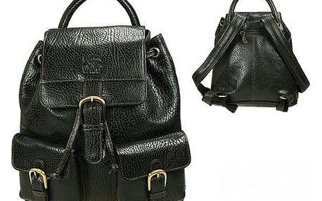 Batoh z pravé kůže 09K-DS Black