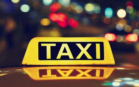 Jízda taxi službou po Pardubicích