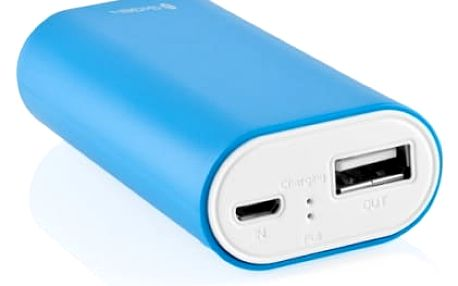 Power Bank GoGEN 4000mAh (GOGPB40001BLW) bílá/modrá