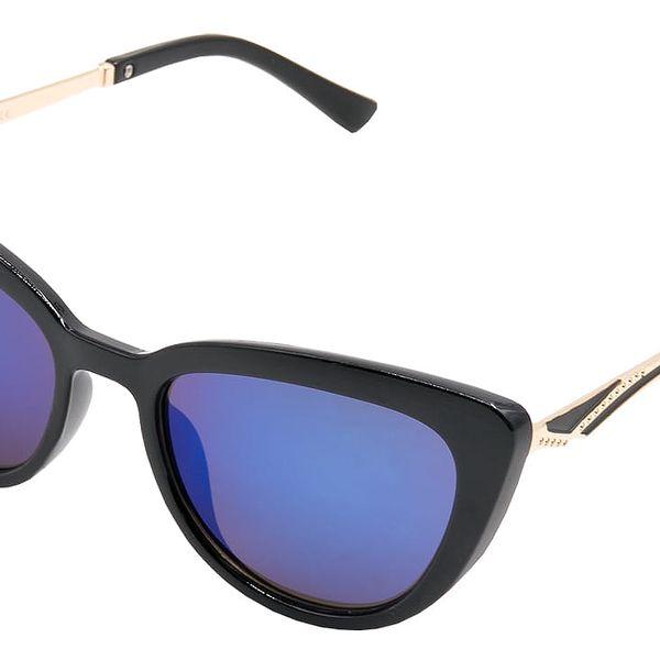 Dámské sluneční brýle See Vision kočičího tvaru černé modré