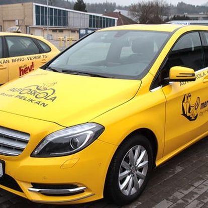 Autoškola - kondiční jízdy s Mercedesem - 6 hodin ve 3 lekcích