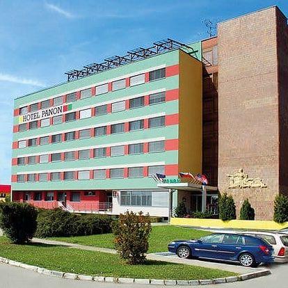 3denní pobyt s polopenzí a koupalištěm pro 2 v hotelu Panon*** na jižní Moravě