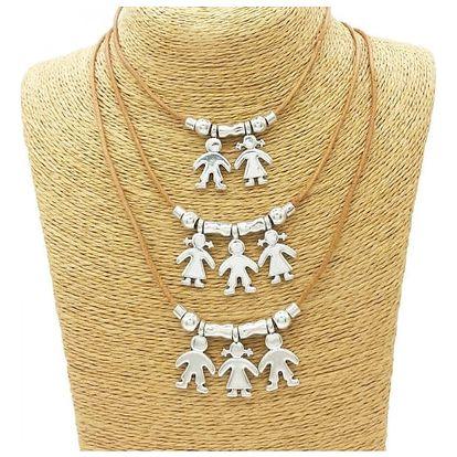Unisex náhrdelník - přívěsky kluci a holky