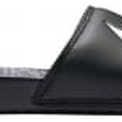 Pánské nazouváky Nike BENASSI SWOOSH 40 BLACK/WHITE