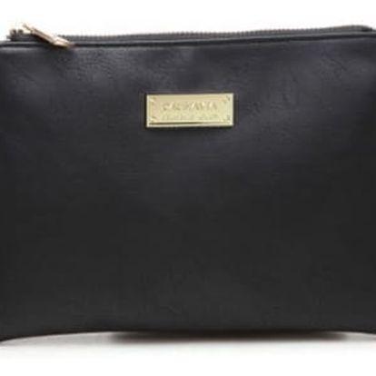 Dámská kabelka přes rameno ve čtyřech barvách - černá - dodání do 2 dnů