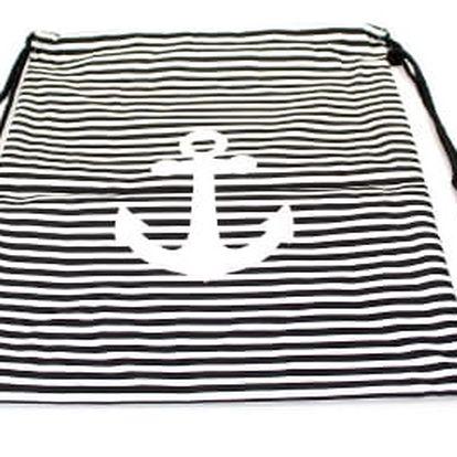 Moderní vak na záda black anchor