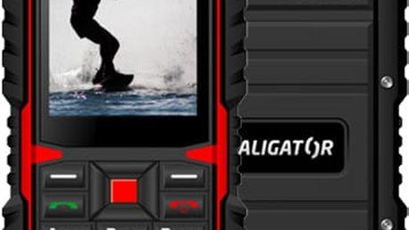 Aligator R12 eXtremo, černá/červená - AR12BR
