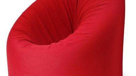 Červená rozkládací postel s křesílkem Paq Bed