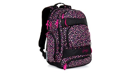 Studentský batoh Topgal HIT 862 H - Pink