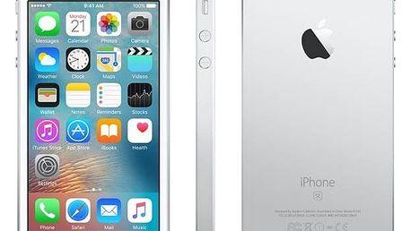 Mobilní telefon Apple iPhone SE 32 GB - Silver (MP832CS/A) Software F-Secure SAFE 6 měsíců pro 3 zařízení (zdarma) + Doprava zdarma
