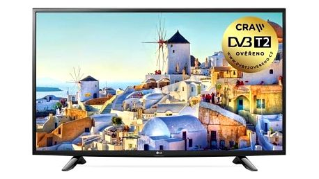 Televize LG 49UH603V černá + Doprava zdarma