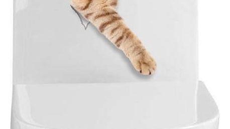 Vtipná samolepka s 3D efektem - kočka