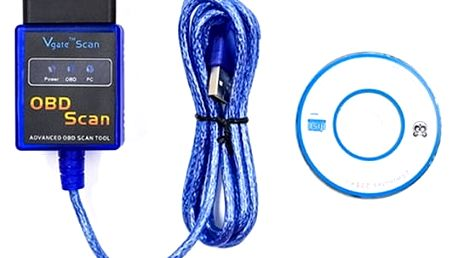 USB/Bluetooth autodiagnostika ELM327 OBD2 - dodání do 2 dnů