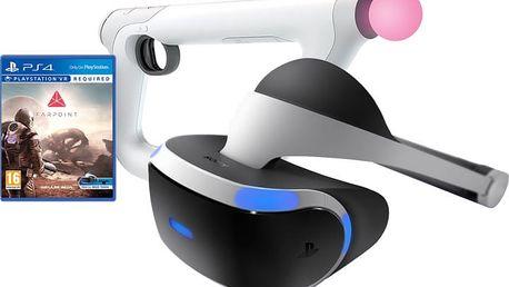 Virtuální brýle PlayStation VR + FarPoint + Aim Controller - PS719844051FP3 + Farpoint - Aim Controller Bundle (PS4 VR)