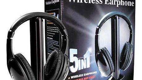 Bezdrátová sluchátka 5v1 WHP-2001