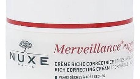 NUXE Merveillance Visible Lines Rich Cream 50 ml denní pleťový krém W