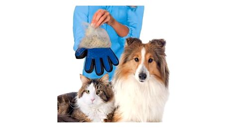 Silikonová rukavice na psí nebo kočičí srst - dodání do 2 dnů