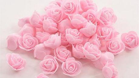 50 kusů pěnových růží k dekorování
