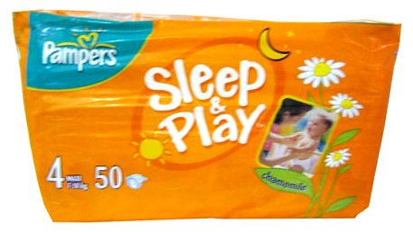 Pampers Sleep&play maxi 7-14kg 50ks