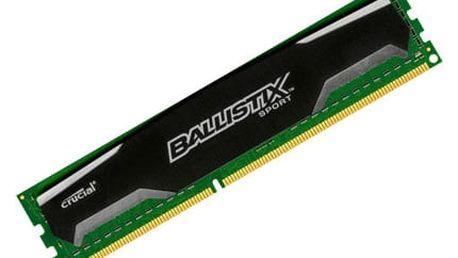 Crucial Ballistix Sport 8GB DDR3 1600 CL 9 - BLS8G3D1609DS1S00