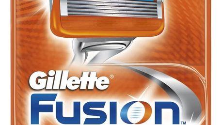 GILLETTE Fusion POWER náhradní hlavice 4 ks