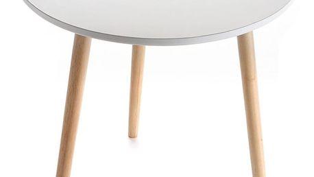 Odkládací stolek Auxiliary White, 50cm - doprava zdarma!