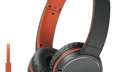 Sony MDR-ZX660AP, oranžová - MDRZX660APD.CE7